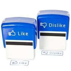 Like and Dislike Stamps £9.99 Delivered @ Firebox!