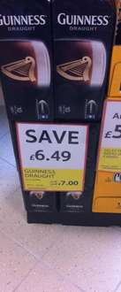10x Guinness 440ml Draught Cans In Store Just £7 @ Tesco