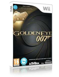 Golden Eye: Collectors Edition With Gold Controller For Nintendo Wii - £29.86 Delivered @ Shopto