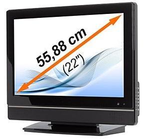 """MEDION® LIFE® P13096 22"""" LCD DVB-T HD TV/DVD Combi (MD20243) £139"""