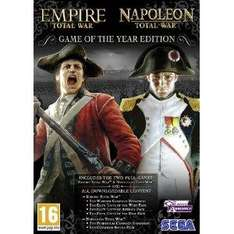 Empire & Napoleon Total War: Game of The Year Edition For PC - £9.23 Delivered @ Amazon