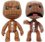 """Little Big Planet: 6"""" Official Angry or Scared Sackboy Poseable Figure - £4.99 Delivered @ Firebox"""