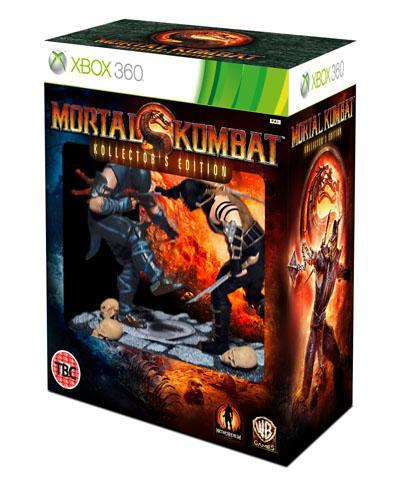 Mortal Kombat Kollectors Editon (Xbox 360) (PS3) (Pre-order) - £49.99 Delivered @ Game