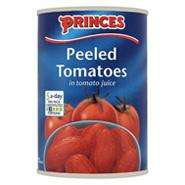 Princes peeled plum tomatoes instore @ Tesco only 23p