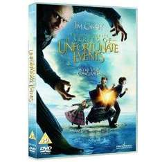 Lemony Snicket's: A Series of Unfortunate Events (DVD) - £2.99 @ Amazon & Play