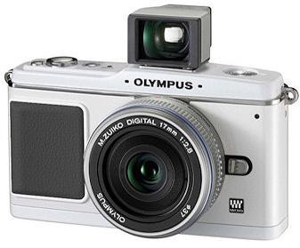 Olympus Pen E-P1 + 17mm f2.8 & VF-1 In Silver - £307.98 Delivered @ Camera World