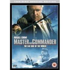 Master and Commander: The Far Side of the World (Double Disc Edition) DVD £1.26 @ amazon