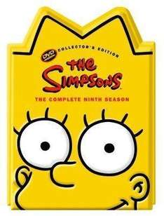 The Simpsons:  The Complete 9th Season (Lisa Head) - £6.85 Delivered @ Zavvi