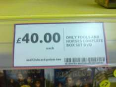 Only Fools & Horses: The Complete Collection (DVD) - £40 Instore @ Tesco