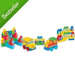 Mega Bloks Maxi Build'n learn Value Set - £5.50 *Delivered To Store* @ Asda Direct