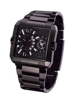 Police 'Rogue' Gents Black IP Bracelet Watch With Black Dial £61.50 @ Amazon