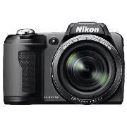 Nikon L110 - Superzoom Digital Camera - £139.97 *Delivered To Store* @ Tesco Direct