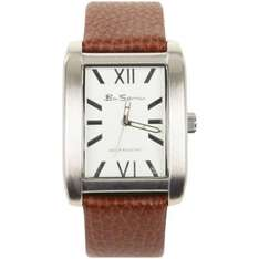 Ben Sherman G Brown Leather with silver detail watch £12.99 free p&p @ The Hut