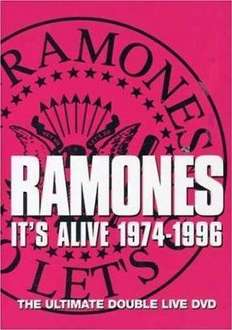Ramones: It's Alive (1974-1996) (DVD) (2 Disc) - £5 Instore @ Fopp