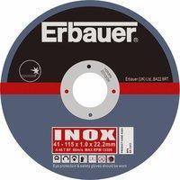 Erbauer Thin Metal Cutting Discs 115 x 1 x 22.2mm Pack of 10 - Screwfix.com - £2.98 was £10.48