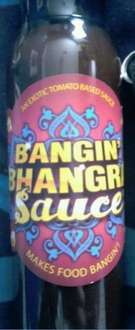 Bangin' Bhangra Sauce - makes food bangin'!  (250ml) - 39p @ B&M