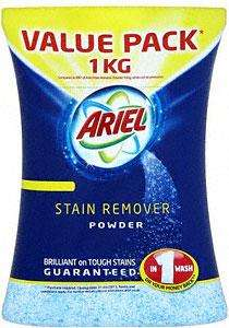 Ariel Stain Remover Powder 1kg was £8.98 now £4.00 @ Sainsbury's