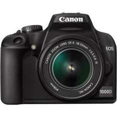Canon EOS 1000D - 18-55 Digital SLR Camera - £333.44 Delivered *Using Voucher Code* @ Laskys
