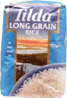 Tilda Long Grain Rice 500g  50p @ Sainsburys