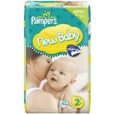 Pampers New Baby Nappies - All Sizes - £11.11 Each Delivered @ Amazon