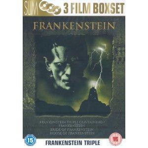 Classic Frankenstein Triple Box Set: Frankenstein / Bride of Frankenstein / House of Frankenstein (DVD) - £5.99 @ Amazon
