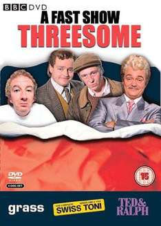 A Fast Show Threesome: Ted And Ralph, Grass, Swiss Tony (DVD) (6 Disc) - £8.99 @ Bee
