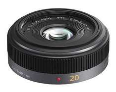 Panasonic 20mm f1.7 Lumix G Micro Four Thirds Pancake Lens - £228 Delivered @ Harrison Cameras
