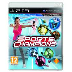 Sports Champions: Move Compatible - £18.95 Delivered @ Playstation Rewards