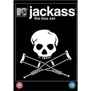 Jackass Box Set: Jackass The Movie / Jackass Number Two / Jackass 2.5 (DVD) (3 Discs) - £5.49 @ Amazon & Play