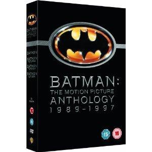 Batman: The Motion Picture Anthology (1989-1997) (DVD) - £9.49 @ Amazon
