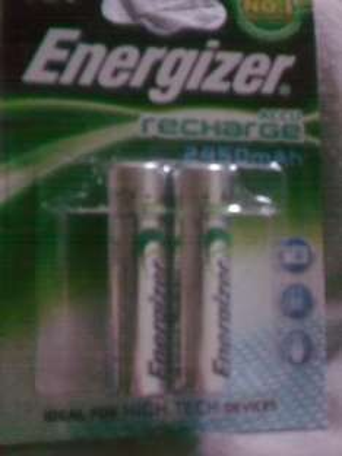 Energizer Rechargable AA batteries Twin Pack - £1.20 @ Asda