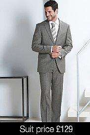 100% Merino Wool Suits £89 today only @ M&S