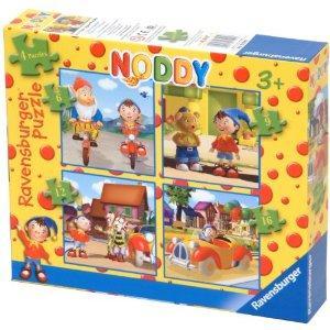 Noddy 4 in 1 Jigsaw Puzzle, £2.59 @ Amazon