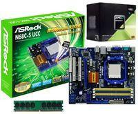 AMD Sempron 140 AM3 Processor, Asrock AM2+ N68C-S UCC mATX Motherboard and Geil Value 2GB DDR3 1333 Memory - £67.98 @ Ebuyer