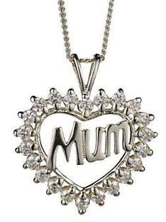 Silver Mum Heart Pendant  was £20.00Now £10.00Save £10.00      Cat No: MC63619  @vary and additi direct