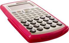 TEXET Albert Easy View Scientific Calculator In Pink, Blue & Silver - 37p *Instore* @ Tesco