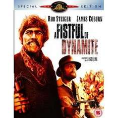 A Fistful Of Dynamite (2 Disc Special Edition DVD) £2.99 (or £2.69 using code FD10 for first time cusomers) delivereed @ BTR [Sergio Leone]