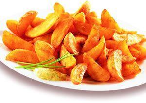 Seasoned Potato Wedges 50p @Morrissons