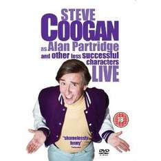 Steve coogan live DVD back to 1.40 at amazon