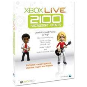 Xbox Live 2100 Points Card - £14.99 @ Amazon