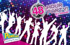 £79 per apartment for two nights mith KGB at the Pontins 48 Hour Party in Camber Sands for up to four people – save 50% on the ultimate 80's weekender worth £158. Only 200 vouchers available!
