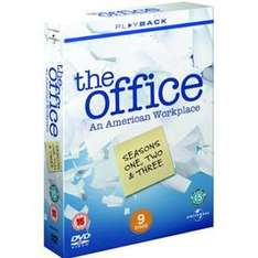 The Office (US): Seasons 1-3 (DVD) - £12.37 @ Price Minister
