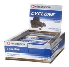 Maximuscle Cyclone Bars (short sell by dates) Half Price £15.00