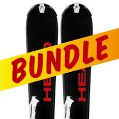 Head Complete Ski Bundle (Skis, Boots, Bindings, Poles, Nag) -  £259.95 Delivered @ Snowtrax