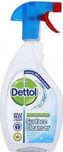 Dettol Antibacterial Surface Cleanser Spray (500ml) £2.02 OR 2 for £2 at Asda