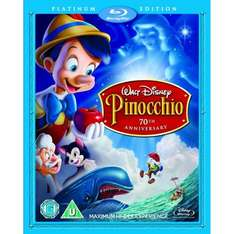 Pinocchio - [Platinum 70th Anniversary Edition Blu-Ray + DVD] £8.99 delivered @ Bee