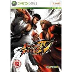 Street Fighter IV For Xbox 360 - £5 *Instore* @ Sainsburys