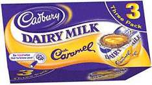 Cadbury Dairy Milk with Caramel Eggs (3 x 39g) £1 at Tesco & Sainsburys
