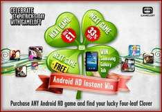 2nd Android HD Game Deals (Inc Free, Galaxy Tab & £1) For St Patricks Day @ Gameloft