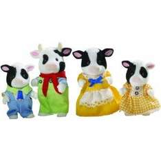 Sylvanian Families Friesian Cow Family - £7.99 Delivered @ Amazon
